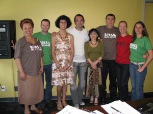 Pesquisadores do CIC Brasil-Angola