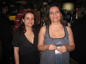 Barbara de La Fuente e Cecília Queiroz